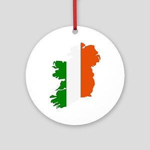 Ireland map Ornament (Round)