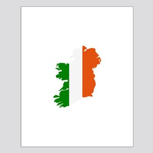 Ireland map Small Poster