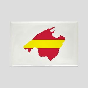 Mallorca Rectangle Magnet