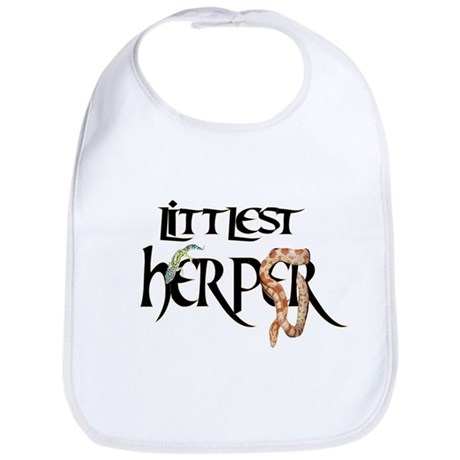 Adorable Littlest Herper baby bib