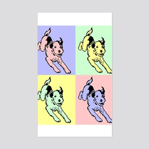 Dogs Rectangle Sticker