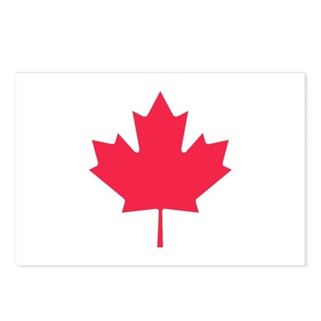 Maple leaf Postcards (Package of 8)
