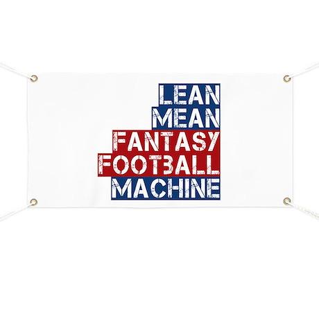 Fantasy Football Machine Banner