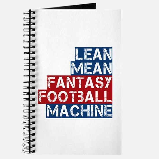 Fantasy Football Machine Journal