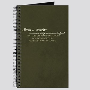 A Truth Universally... Journal