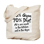 30% Gym Tote Bag