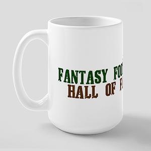 Fantasy Football Hall of Famer Large Mug