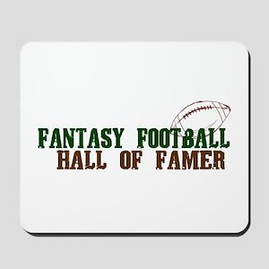 Fantasy Football Hall of Famer Mousepad