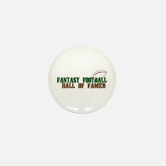 Fantasy Football Hall of Famer Mini Button