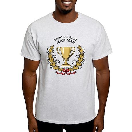 World's Best Mailman Light T-Shirt