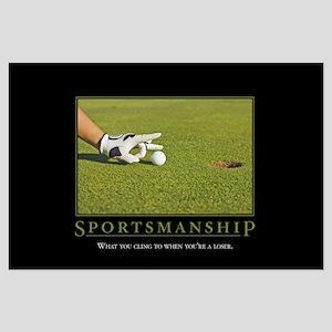 Sportsmanship Large Poster