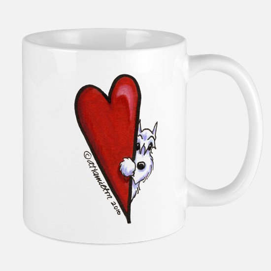 White Schnauzer Lover Mug