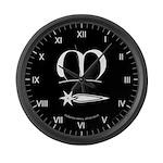 Meridies Populace Large Wall Clock