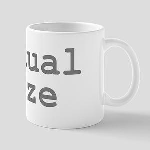 Actual Size Mug