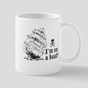 I'm On a Boat (sails) Mug