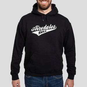 Airedales Rule Hoodie (dark)