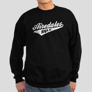 Airedales Rule Sweatshirt (dark)