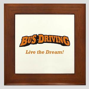 Bus Driving / LTD Framed Tile