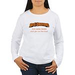 Bus Driving / Calm Down Women's Long Sleeve T-Shir