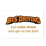 Bus Driving / Calm Down Postcards (Package of 8)