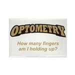Optometry / Fingers Rectangle Magnet (10 pack)