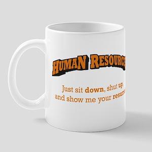 Human Resources / Sit Mug