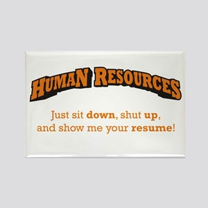 Human Resources / Sit Rectangle Magnet