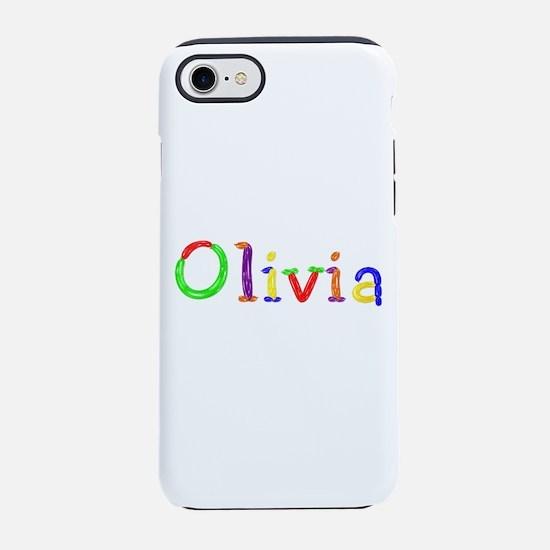 Olivia Balloons iPhone 7 Tough Case