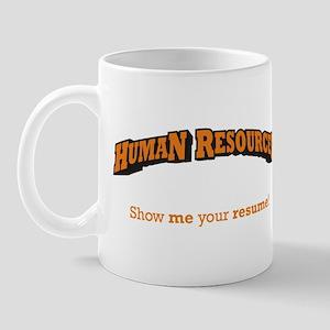 HR / Resume Mug