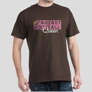 Fantasy Football Queen Dark T-Shirt