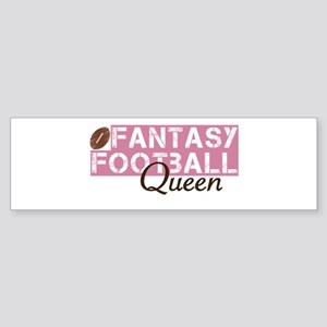 Fantasy Football Queen Sticker (Bumper)