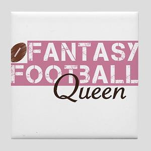 Fantasy Football Queen Coasters Cafepress