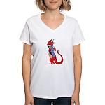 Llewellyn! Women's V-Neck T-Shirt
