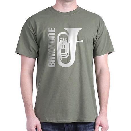 Music Silhouette Baritone Dark T-Shirt