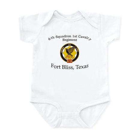 6th Squadron 1st Cav Infant Bodysuit