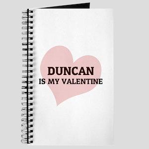 Duncan Is My Valentine Journal