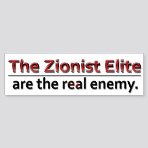 Zionist Elite Enemy - Sticker