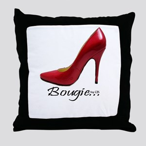 Bougie Things Throw Pillow