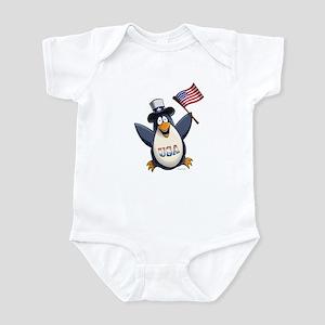 American Penguin Infant Bodysuit