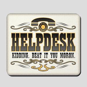 Helpdesk Mousepad