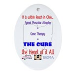 Cure in Ohio Ornament (Oval)