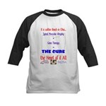 Cure in Ohio Kids Baseball Jersey