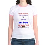 Cure in Ohio Jr. Ringer T-Shirt