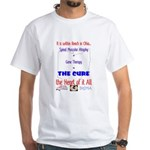 Cure in Ohio White T-Shirt