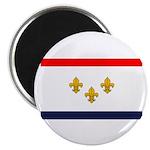 Flag of New Orleans Magnet