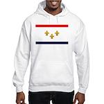 Flag of New Orleans Hooded Sweatshirt
