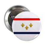Flag of New Orleans Button