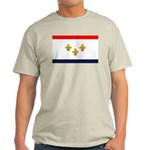 Flag of New Orleans Ash Grey T-Shirt