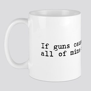 If guns cause crime .. Mug