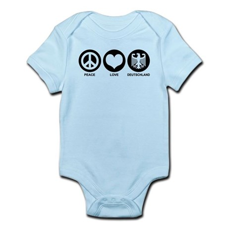 Peace Love Deutschland Infant Bodysuit